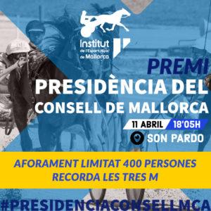 Premi PRESIDÈNCIA CONSELL DE MALLORCA